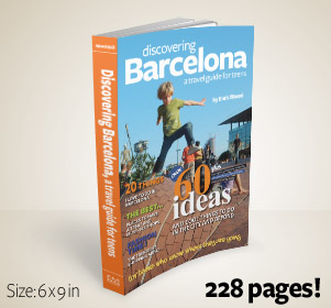 Discovering Barcelona, a travel guide for teens, by Enric Masso